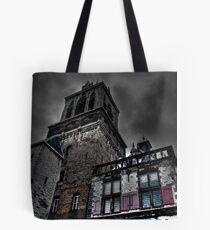 Haunted Mansion HDR Tote Bag