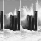 Breaking Waves by SilverLilyMoon