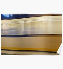 Train passing by Poster