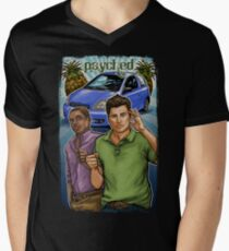 Psyched Mens V-Neck T-Shirt