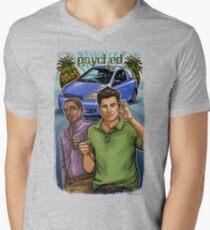 Psyched Men's V-Neck T-Shirt