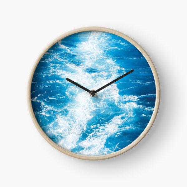 Blue sea Clock