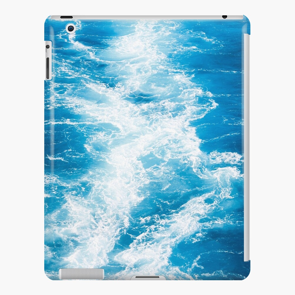Blue sea iPad Case & Skin