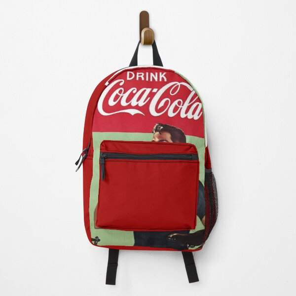 Coca cola 50s ad Backpack