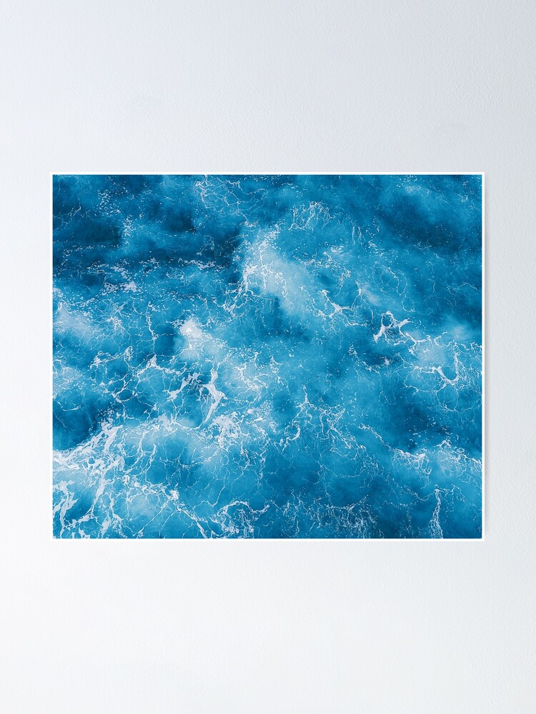 Alternate view of Blue ocean view Poster