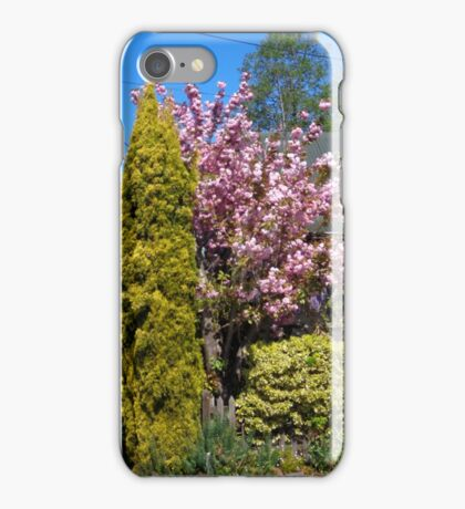 Blossoms in Akaroa iPhone Case/Skin