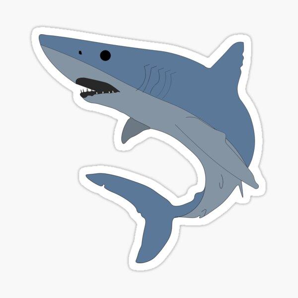 Mako Shark Illustration Sticker