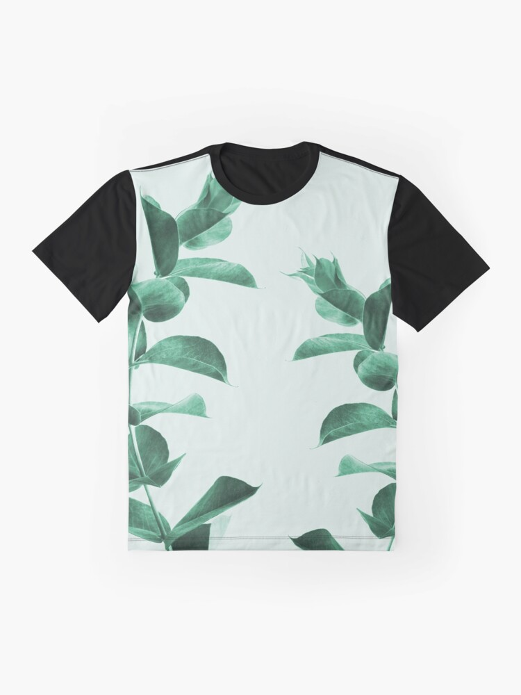 Alternate view of Eucalyptus green Graphic T-Shirt