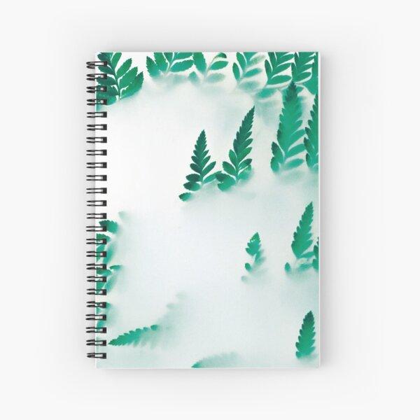 Foggy fern Spiral Notebook