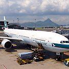 Hong Kong Airport, 2012. by johnrf