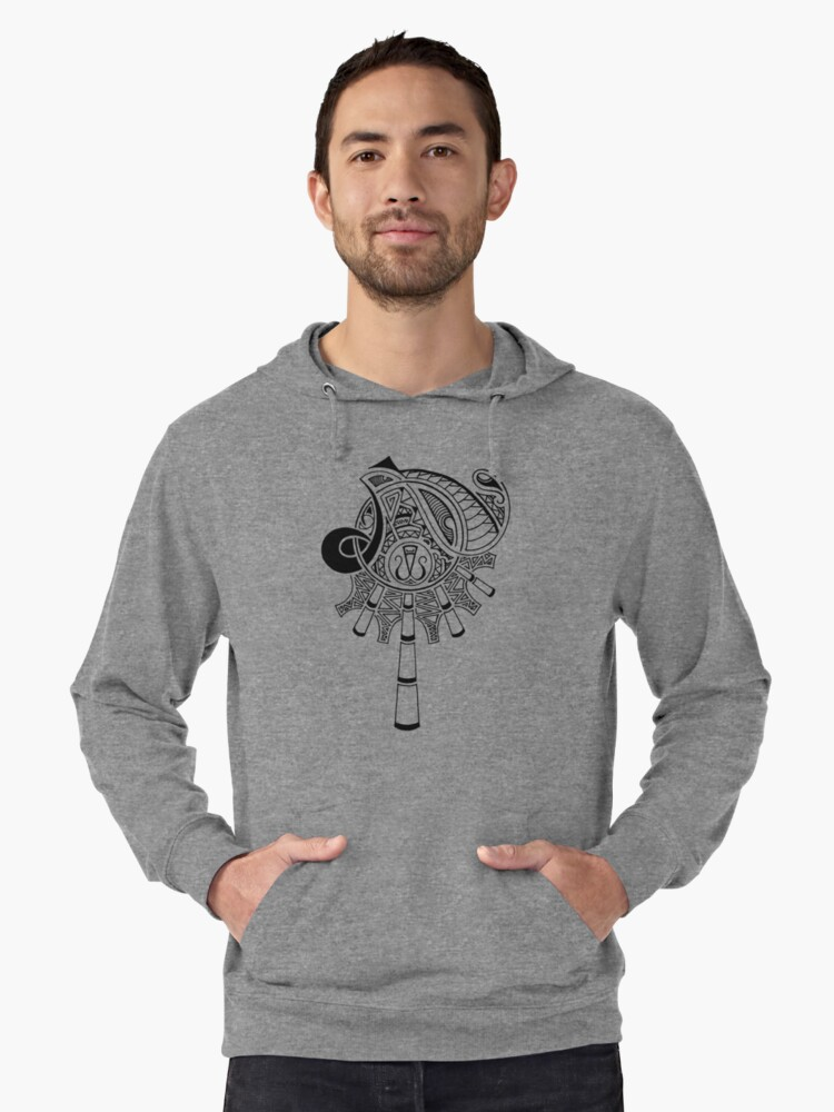 Magnified Lightweight Hoodie Front