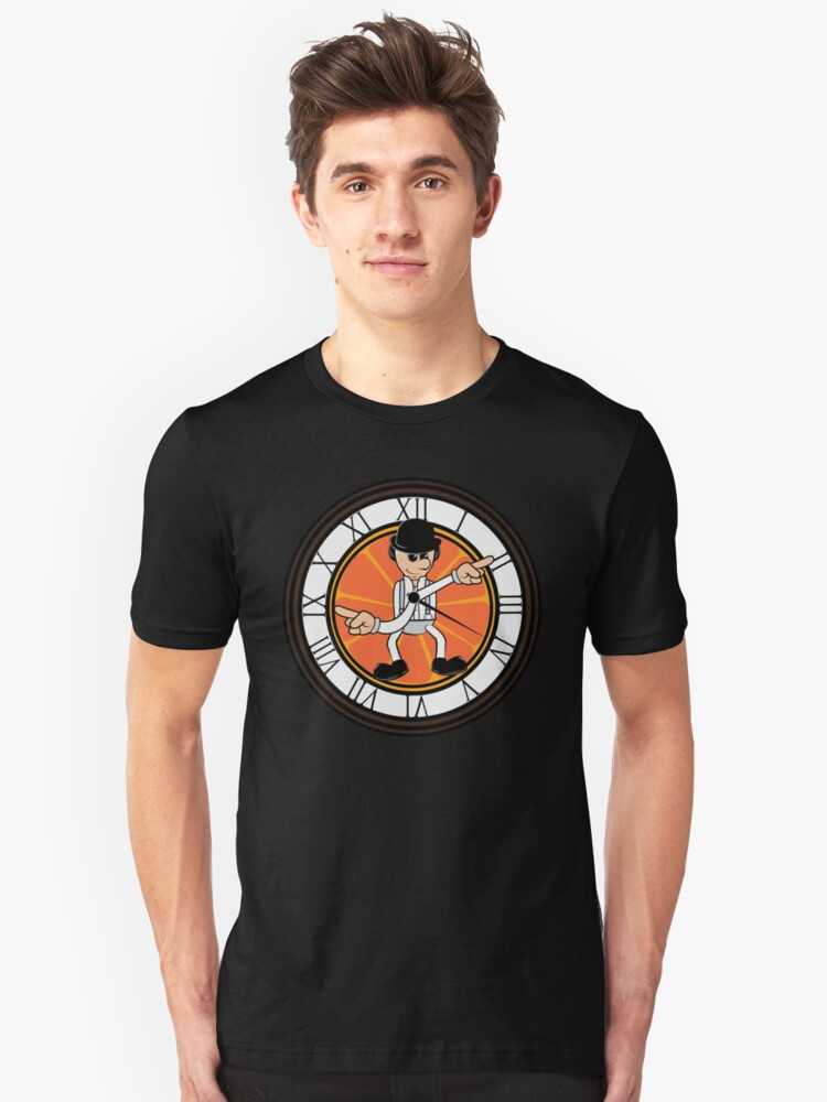 This clock works Unisex T-Shirt Front