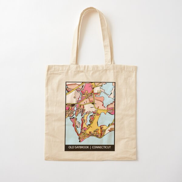 Old Saybrook, CT Cotton Tote Bag