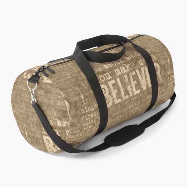 Believer - Sepia Duffle Bag