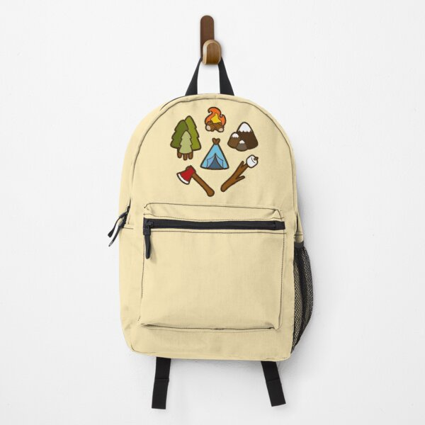 Camping is cool Backpack