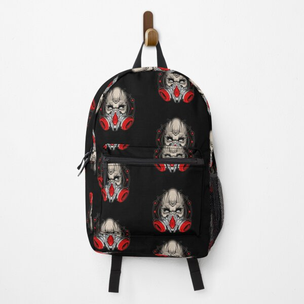 Zombie With Gas Mask Backpack