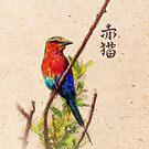 Red Bird case by Marsea