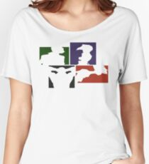 Cowboy Bebop Colored Panels Women's Relaxed Fit T-Shirt