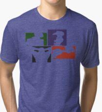 Cowboy Bebop Colored Panels Tri-blend T-Shirt