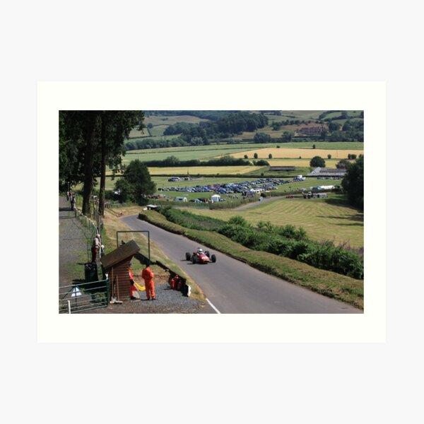 Shelsley Walsh Hill Climb Art Print
