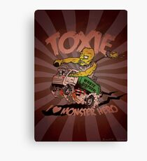Toxie - I Heart The Monster Hero Canvas Print