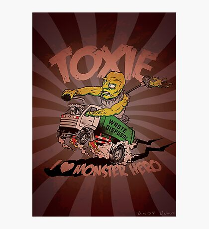 Toxie - I Heart The Monster Hero Photographic Print