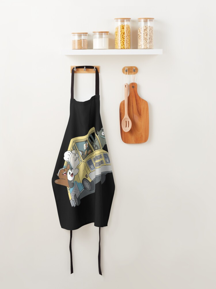 Alternate view of We Bare Bears Apron