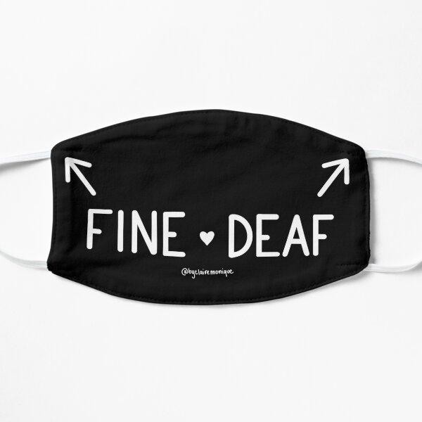 Left Sided Deafness Fine Deaf SSD  Mask