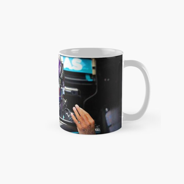 Lewis Hamilton getting ready to race for the 2020 Hungarian Grand Prix Classic Mug