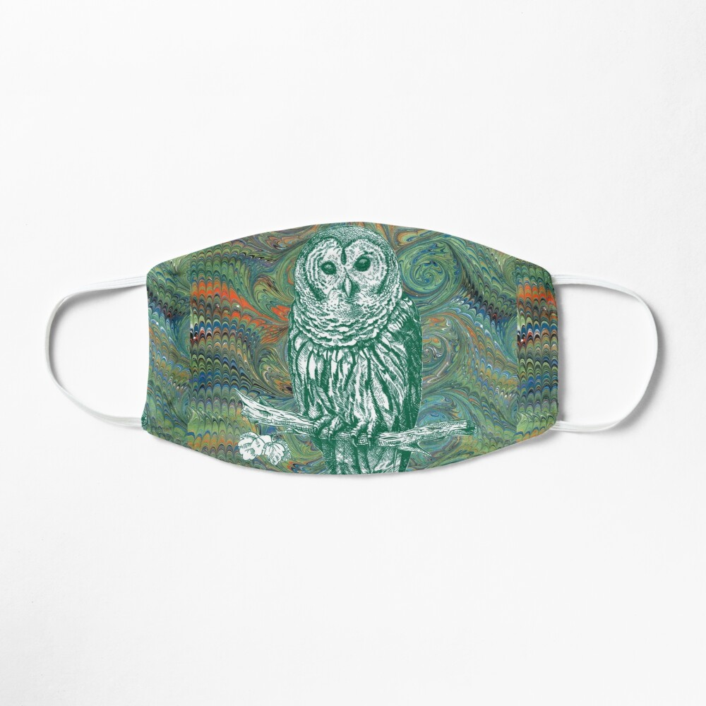 The Owl in the Library Mask