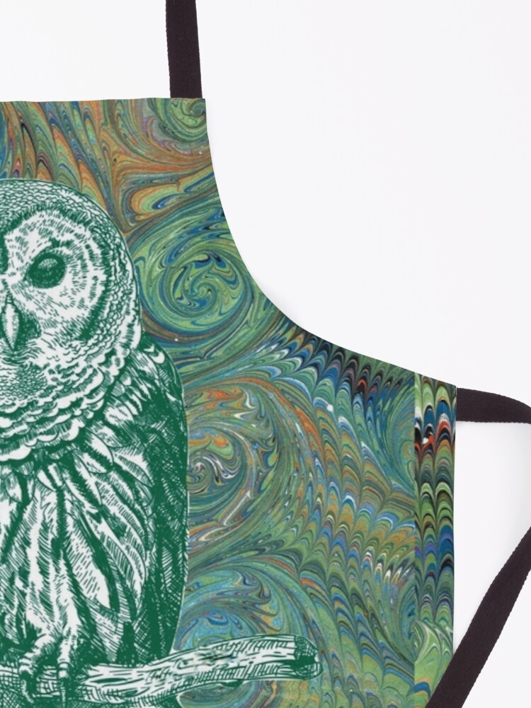 Alternate view of The Owl in the Library Apron