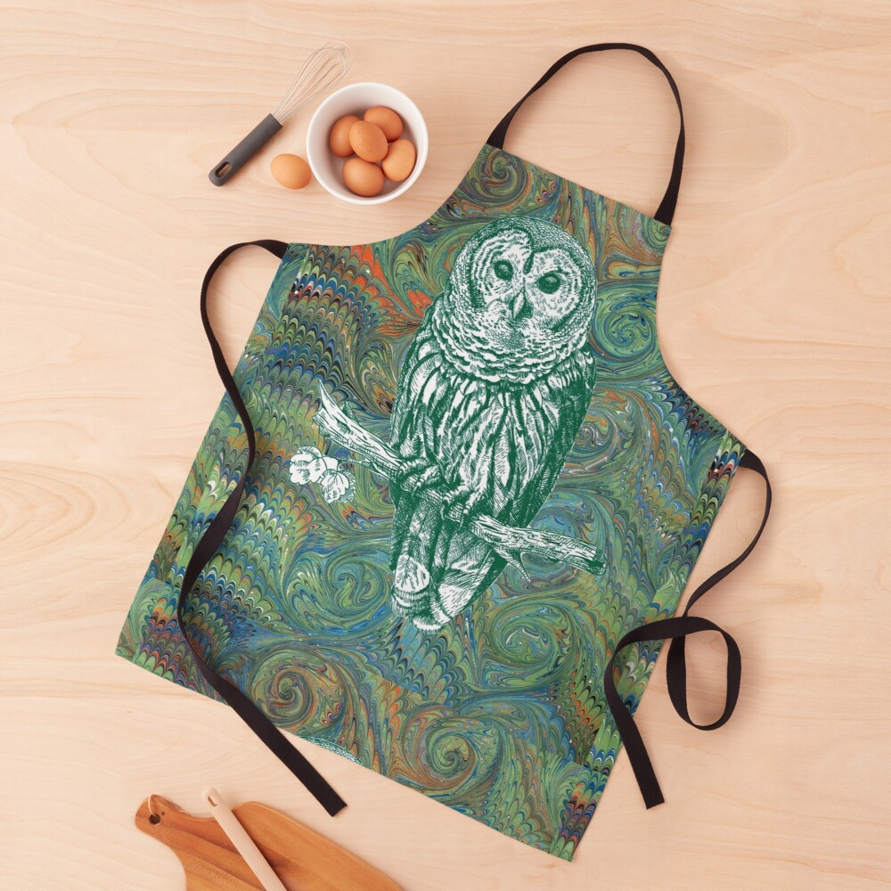 The Owl in the Library Apron