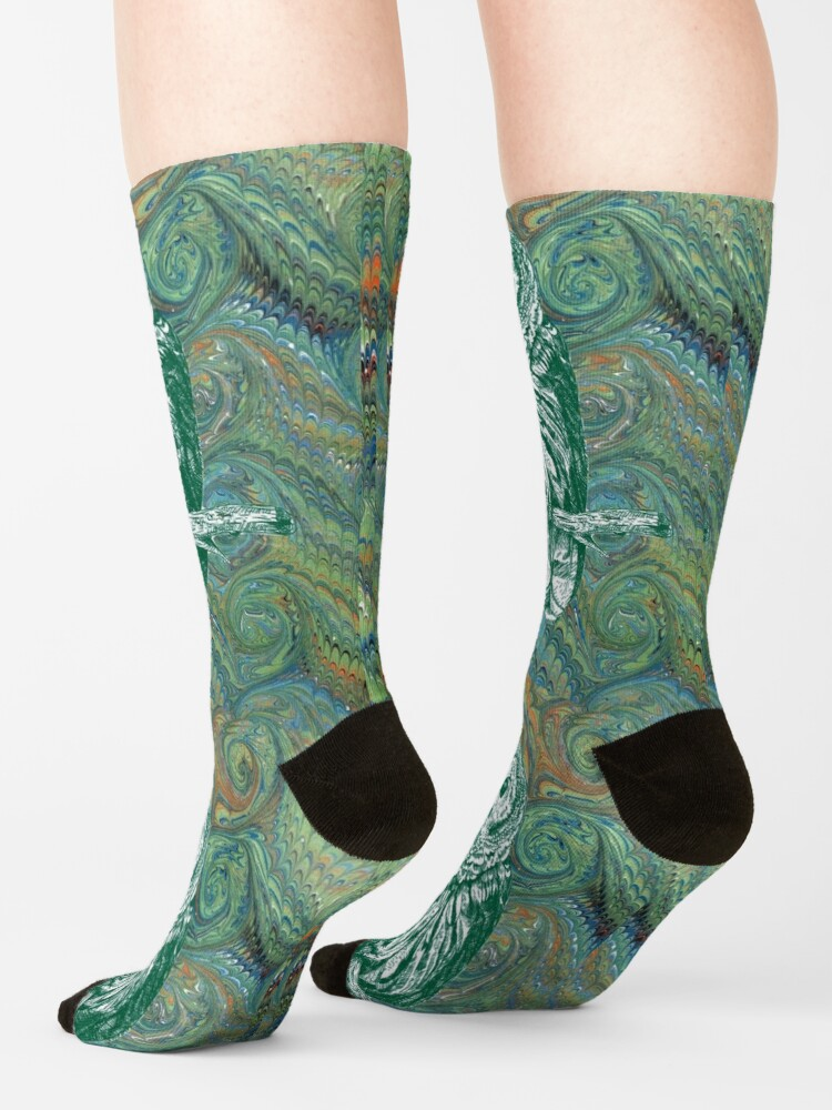 Alternate view of The Owl in the Library Socks