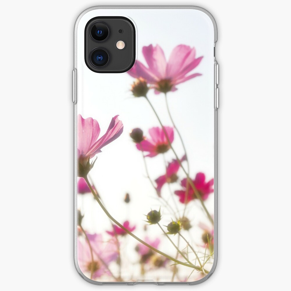 Pink flowers iPhone Case & Cover