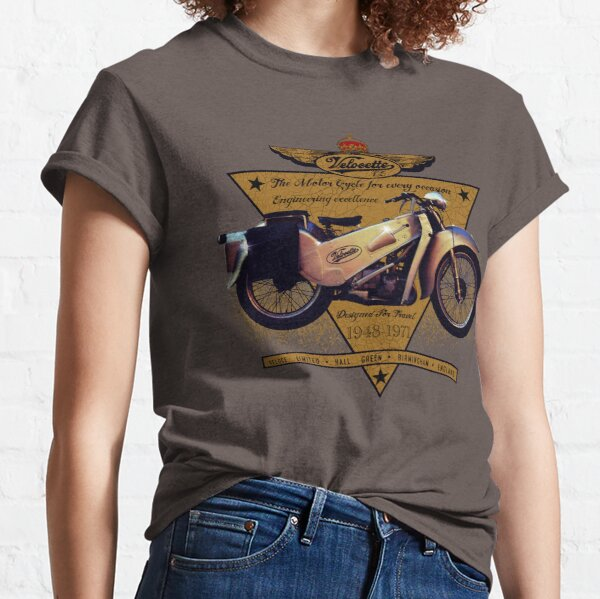 The Gorgeous Velocette LE Motorcycle Design by MotorManiac Classic T-Shirt