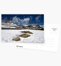 Glacier Stepping Stones Postcards