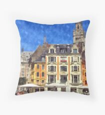 lille france Throw Pillow