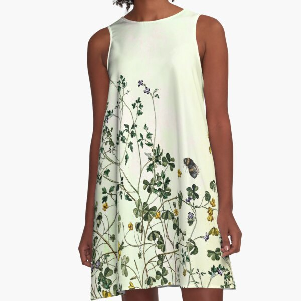 Overgrowing my garden A-Line Dress