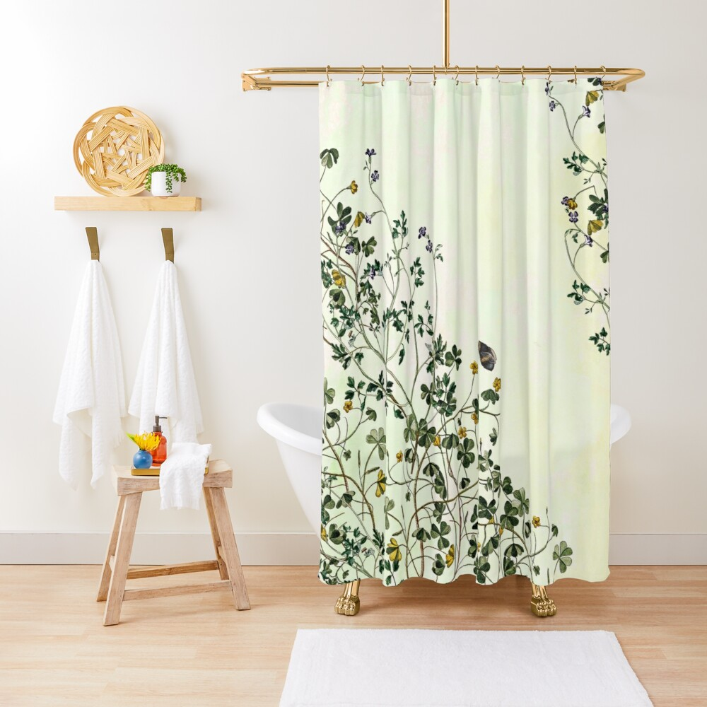 Overgrowing my garden Shower Curtain