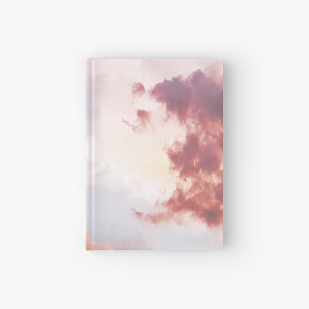 Pink clouds Hardcover Journal