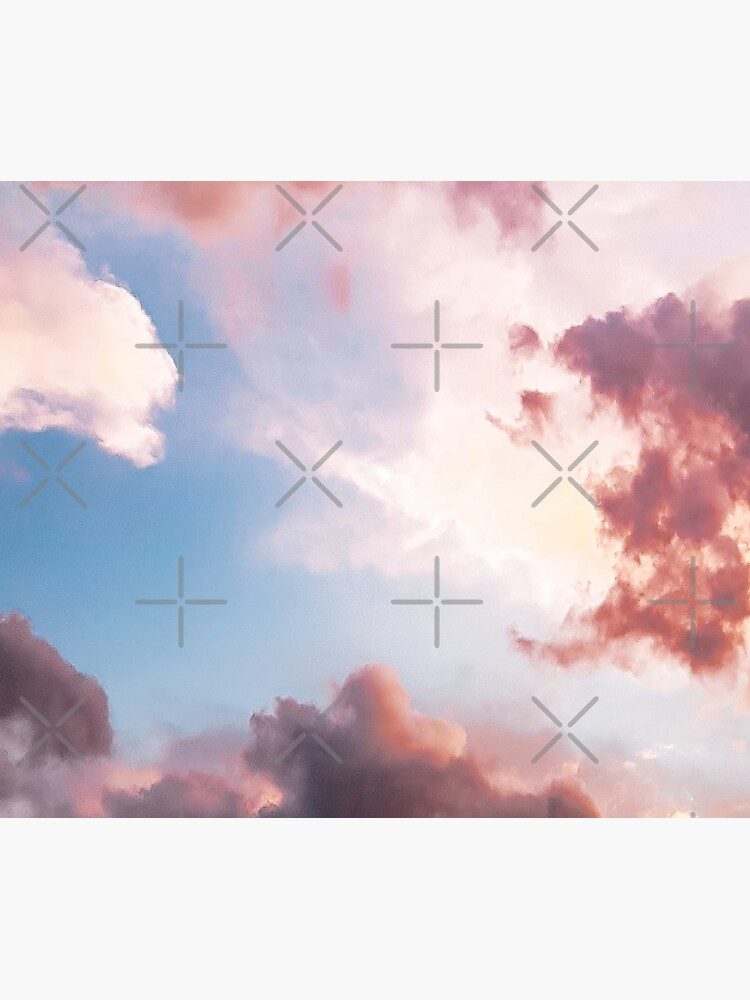 Pink clouds by ColorsHappiness