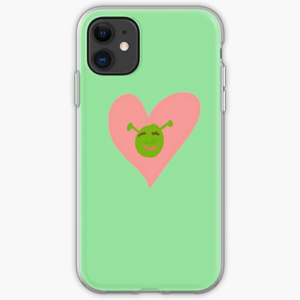 I heart shrek  iPhone Soft Case