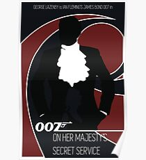 James Bond - On Her Majesty's Secret Service Poster