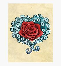 Octo Rose Love Photographic Print