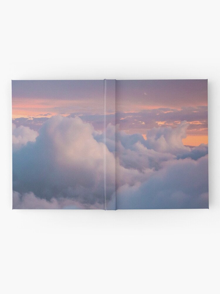 Alternate view of Blue cloudy sky Hardcover Journal