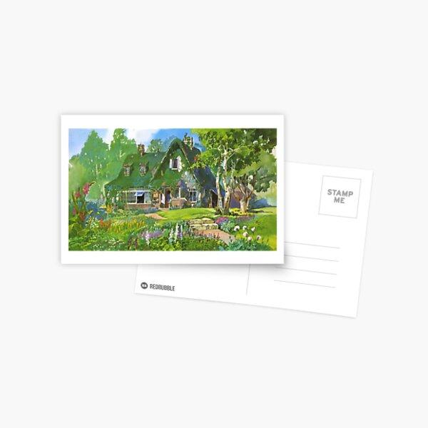 Service de livraison de Kiki Cottagecore Vibes Carte postale