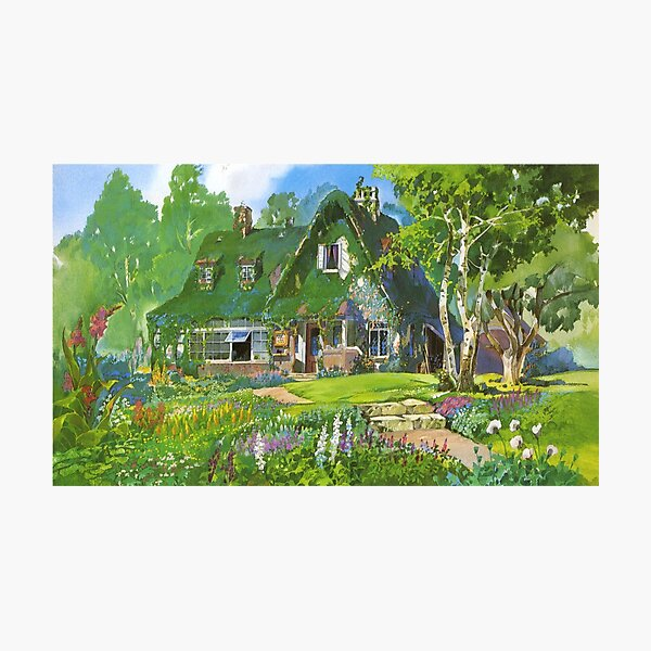 Kiki's Delivery Service Cottagecore Vibes Photographic Print