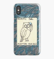 Monitors Your Calls iPhone Case/Skin
