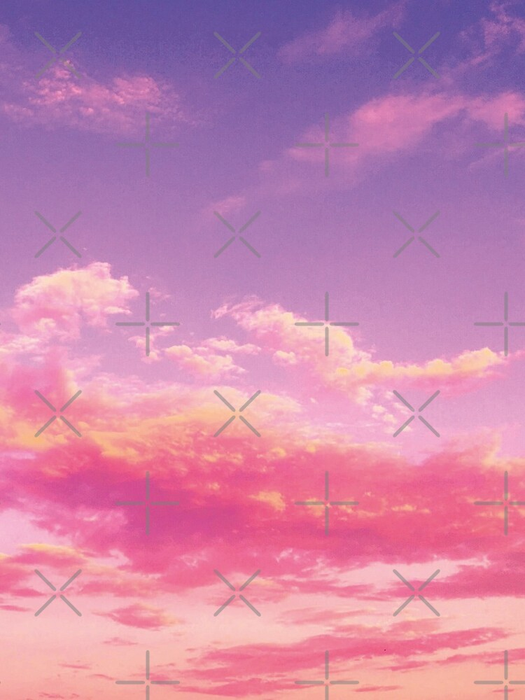 Purple sky, pink clouds by ColorsHappiness