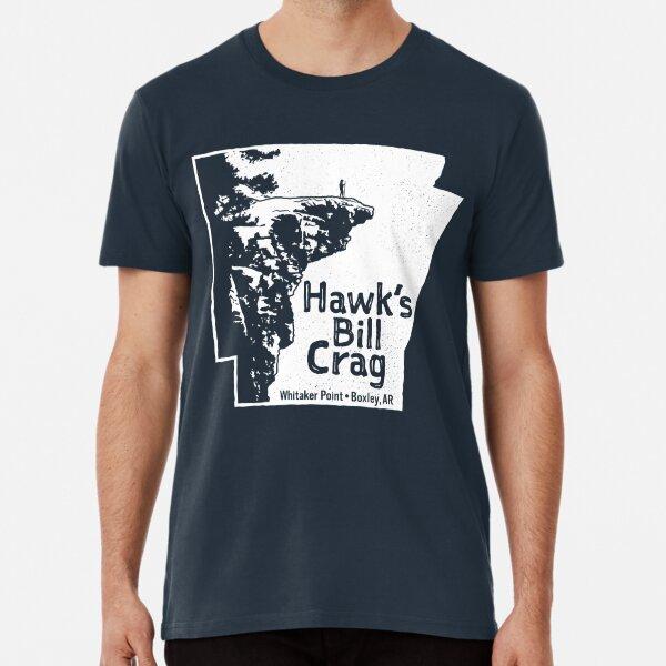 Hawksbill Crag / Whitaker Point Premium T-Shirt